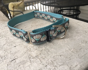 "Missy's Lily Pads -  1"" Martingale Collar"