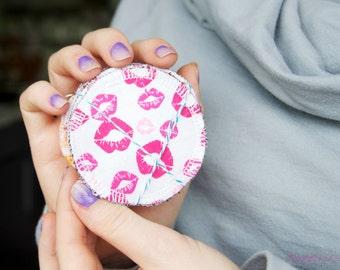 Reusable Makeup Remover Pads | Face Scrubbies | Makeup Wipes | Facial Rounds | Terry Cloth Back | Random Assortment | Sample Set of 6