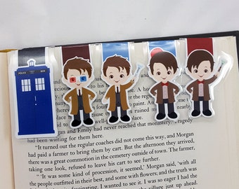 Doctor Who Inspired Magnetic Bookmark
