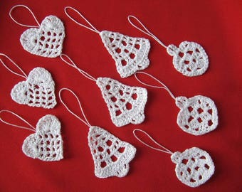 Christmas tree decoration to hang on your gift packages or hanging on the tree