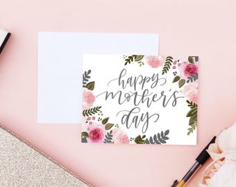 Happy Mother's Day Card, Mothers Day Card, Mom Gift, Mom Card, Mom Birthday Card, Mothers Day, Mothers Gift, Gift for Mom, Mom Card