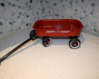 Vintage radio flyer wagon miniature Metal