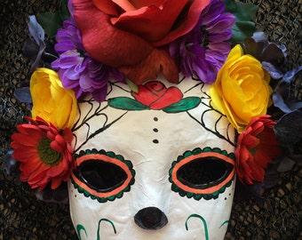 Dia de los Muertos Hanging Mask