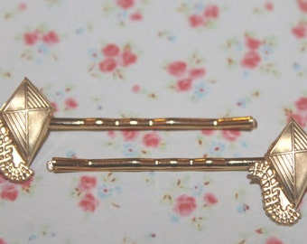 Kite bobby pins make beautiful gifts, Theta pledge presents, stocking stuffers  or everyday hair accessories!