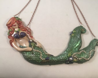 Mermaid necklace MADE TO ORDER