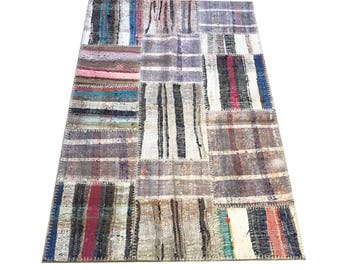 Kelim Modern modern patchwork rug rug decorative chaput rug