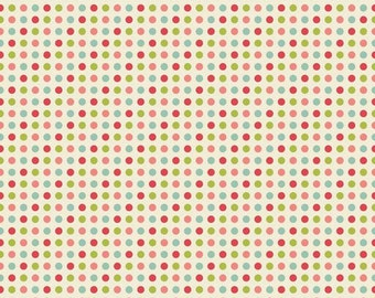 1/4 Yard Riley Blake The Sweetest Thing Multi-Dot, Quantities Available