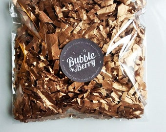 Copper/Bronze/Rose gold Tissue Paper Confetti Wedding Party/ party confetti/ birthday/ handcut/ Biodegradable Handmade