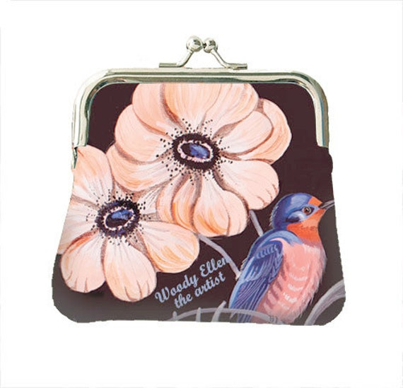 Coin purse,retro purse,Sweet Swallow,christmas,gifts,gifts for her,gifts for mom,Woody Ellen handbag,christmas gifts,christmas gift ideas
