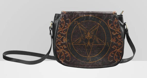 Baphomet Saddle bag