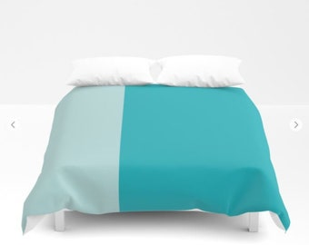 Turquoise Duvet Covers in full, twin, queen and king - FREE Shipping!
