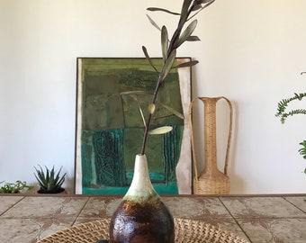 70s Earth Clay Vase/Vessel