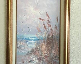 Original Seascape Oil Painting by Karl Neumann