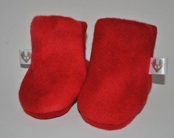 Toes-T-Toes Slippers (Red)