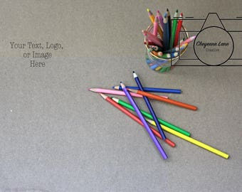 Styled Stock Photography: Colored Pencil