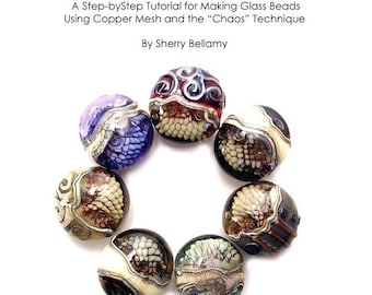 Tutorial -  How to Use The  Chaos  Copper Mesh Technique in Glass Beads