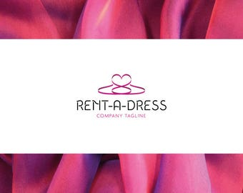 Premade Logo Design - Fashion, Dress, Shop, Pink