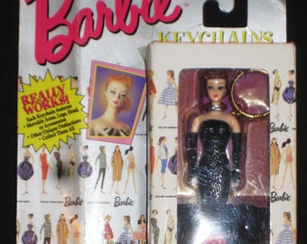 Vintage Solo in the Spotlight Barbie Keychain 1995 - Basic Fun