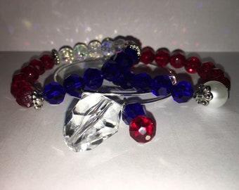 Patriotic bracelet set