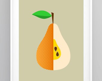 awesome apple and pear pairs curated by buy modern baby on etsy