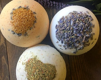 Aromatherapy Bath Bomb Fizzies