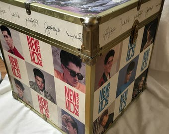 1990 New Kids on the Block, Trunk/Toy Chest. NKOTB