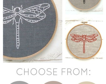Dragonfly Embroidery Kit {basic}