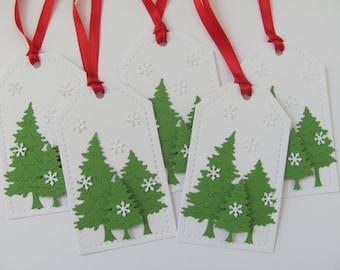 Christmas Tree Gift Tags, Christmas Tags, Tree Christmas Tags, Christmas Tree Tag, Holiday Gift Tags, Tree Gift Tags, Christmas Gift Tags