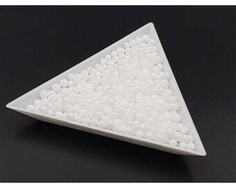 5000 styrofoam white color 3mm beads