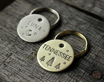 Dog tag custom made for your pet - Name tag - ID Pet gift