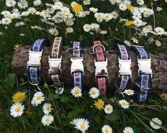 Hundehalsband Alpenliebe in verschiedenen Farben