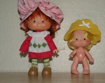 Butter Cookie and Strawberry Shortcake Dolls