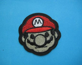 Iron-on embroidered Patch Super Mario 2.5 inch