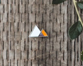 Mountains - Enamel Pin