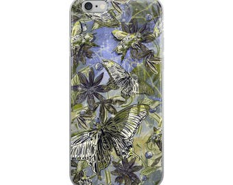 Butterfly on the Green -iPhone Case