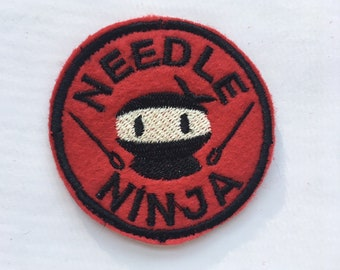 Needle Ninja Felt Patch