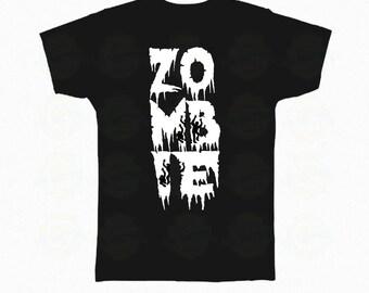 "Zombie T-Shirt Halloween ""Zombie"""