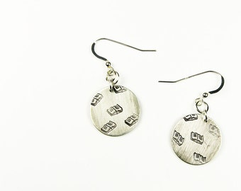 Book Earrings - Jewelry for Librarian, Reader, Author, Book Lover