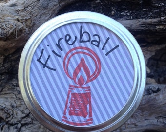 Fireball Candle