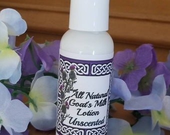 Natural Goats Milk Lotion