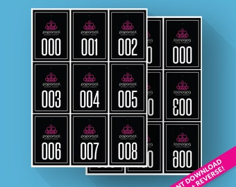 photo about Free Printable Live Sale Numbers referred to as Paparazzi electronic Etsy