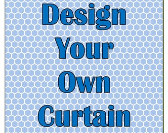 Design Your Own Shower Curtain - Custom Shower Curtain - Personalized Shower Curtain - monogrammed Shower Curtain