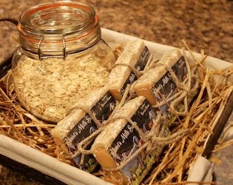 Milk and Honey Oatmeal- Goat's Milk Soap