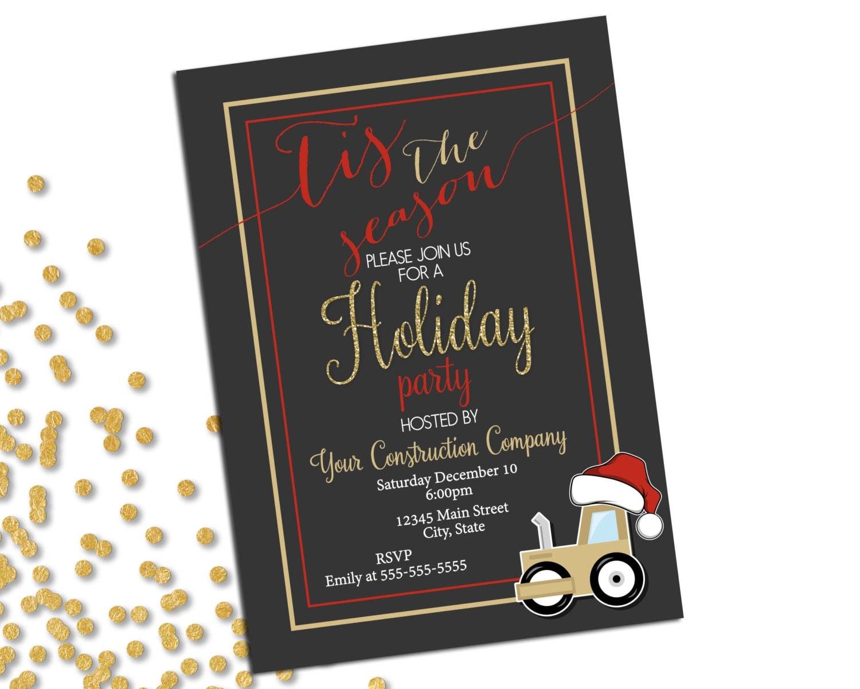 Company Holiday Party Invitation Christmas Party