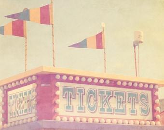 Circus Tickets, Carnival Photography, Carnival Theme Party, Circus Baby Shower, Circus Photography, Baby Artwork, Pastel Nursery Art