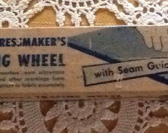 Vintage, DTC Dressmaker's Tracing /Transfer Wheel, sewing, clothing, garments, making seams