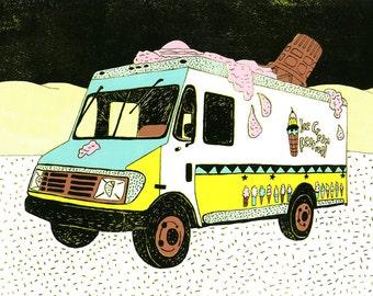No.1 ice cream truck