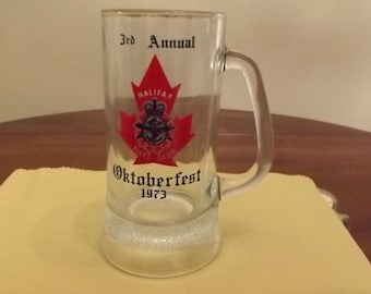 Octoberfest Mug - Halifax Fleet Club - 3rd Annual 1973