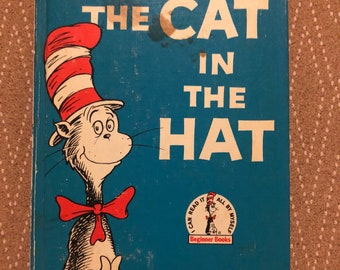 The Cat in the Hat Dr. Seuss First Edition 1957