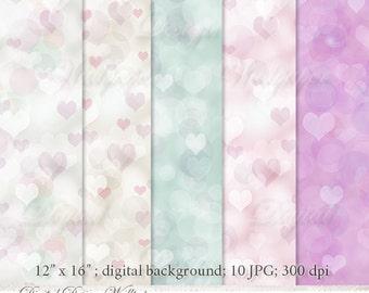 Valentines,Valentine,Photo Background,Backdrop Bokeh,Bokeh Overlay,Bokeh Digital Backdrop,Photo Backdrop,Backdrop,Bokeh Backdrop,Heart Bokeh